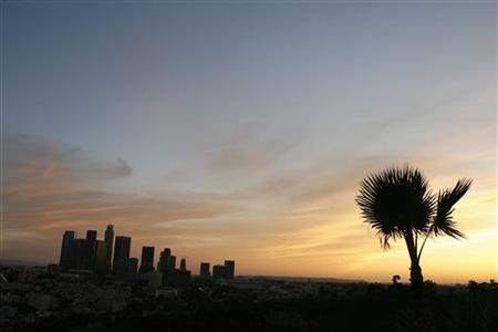 california-los-angeles-sunset