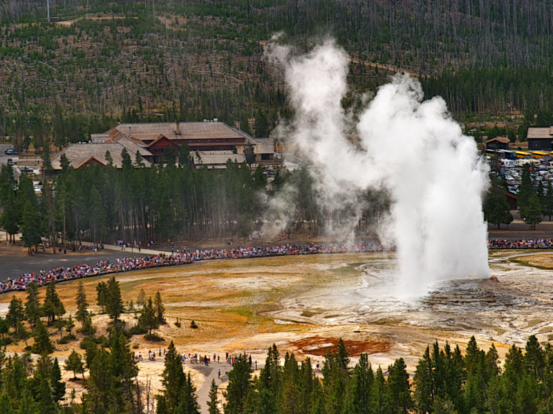 Yellowstone National Park has