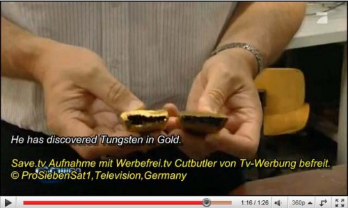 tungsten-gold-bars