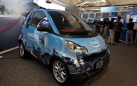 electric-car-with-intel-connected-car-applications