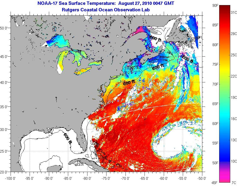 nooa-sea-surface-temperature