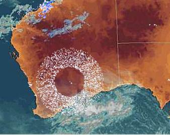 HAARP Huge ring appears over Australia HAARP