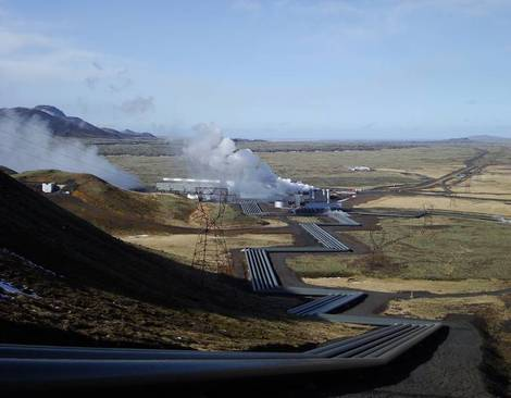 Geothermal Energy Volcano