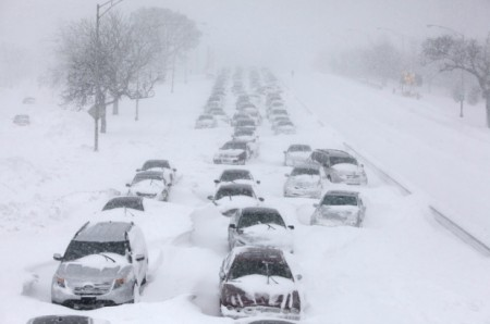 Powerful Winter Storm Paralyzes US