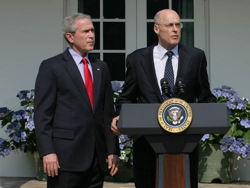 President_Bush_Nominates_Henry_Paulson_as_Treasury_Secretary