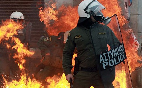 Greece Financial Crisis Riots