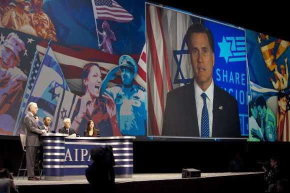 Mitt Romney at AIPAC
