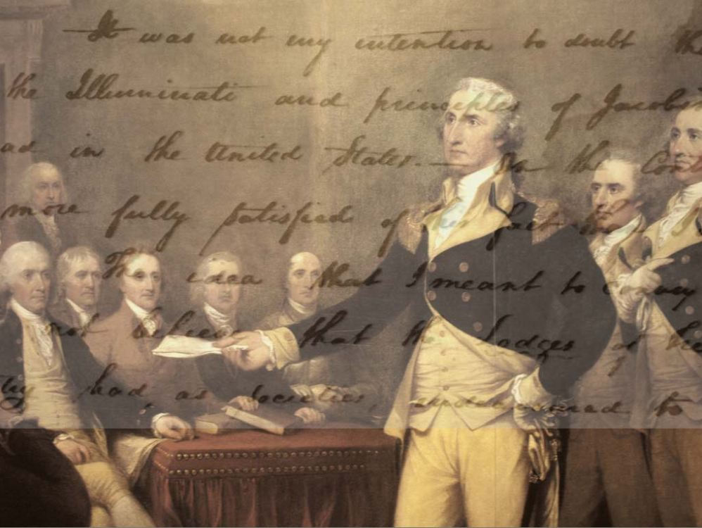 the warnings from our first president george washington In early 1796, president george washington decided not to seek reelection for a third term and began drafting this farewell address to the american people.