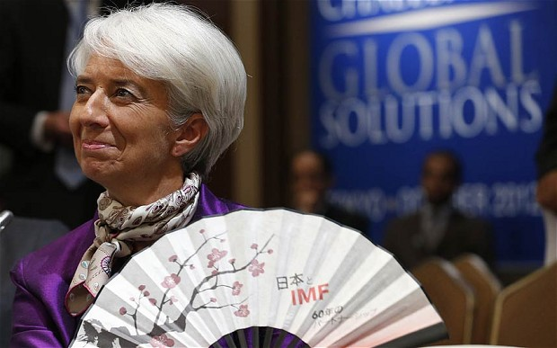 IMF chief Christine Lagarde