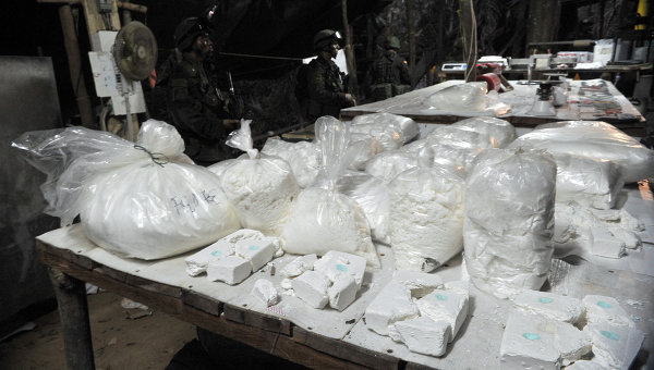 Over 20 Tons of Heroin Seized in Afghanistan