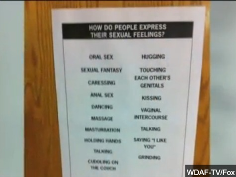 Anal Sex, Oral Sex, and Touching Each Other's Genitals - Just Another Day in Junior High Health Class
