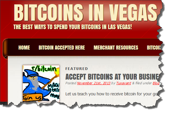 Bitcoins in Vegas