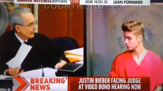 MSNBC cuts Congresswoman during NSA LIVE to report... Justin Bieber