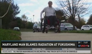 Navy officer now confined to wheelchair after Fukushima radiation exposure
