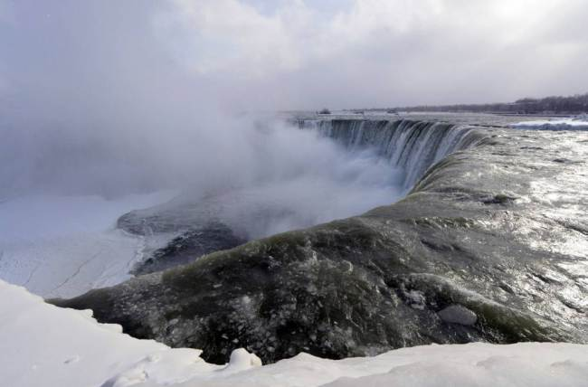 Niagara Falls Frozen (Photos) – 'Don't Flush Your Toilets ...