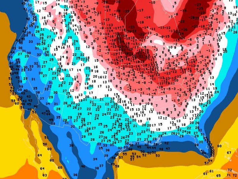 Now It's About To Get Insanely Cold