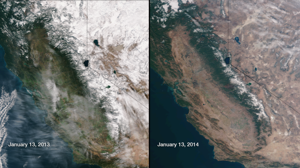 California-snowpack-drought