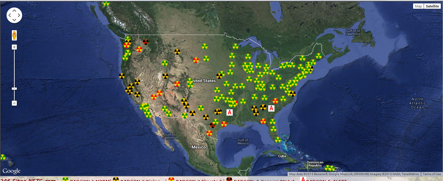 Nuclear Emergency Tracking Center Radcon 5 Alert