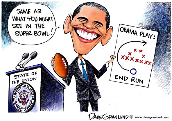 White House Super Bowl Playbook