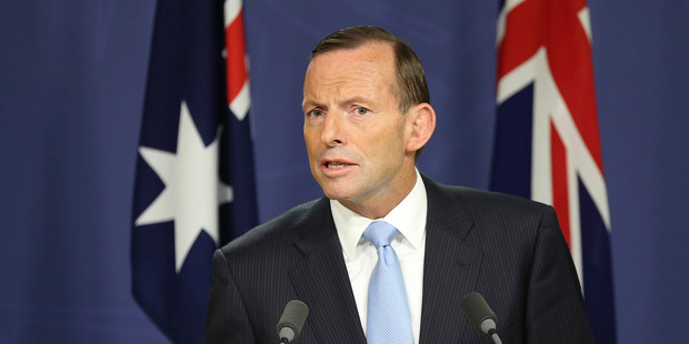 Australias Prime Minister Tony Abbott has announced a fleet of unmanned drones will patrol Australias borders
