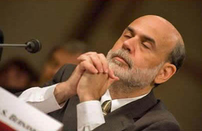 Bernanke prayer