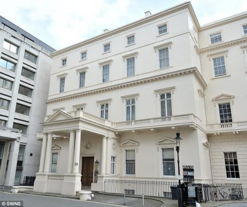 The £250MILLION home - London house set to become UKs most expensive property ever sold as it is put up for sale