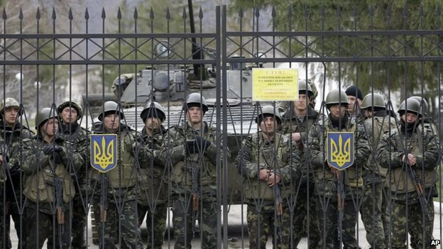 Ukraine Orders Full Military Mobilization