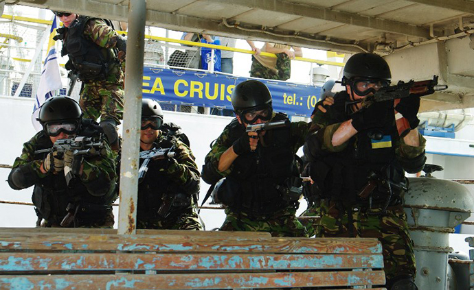 UKRAINE-US-NAVY-TRAINING