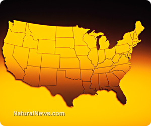 Which parts of America are the most contaminated with arsenic