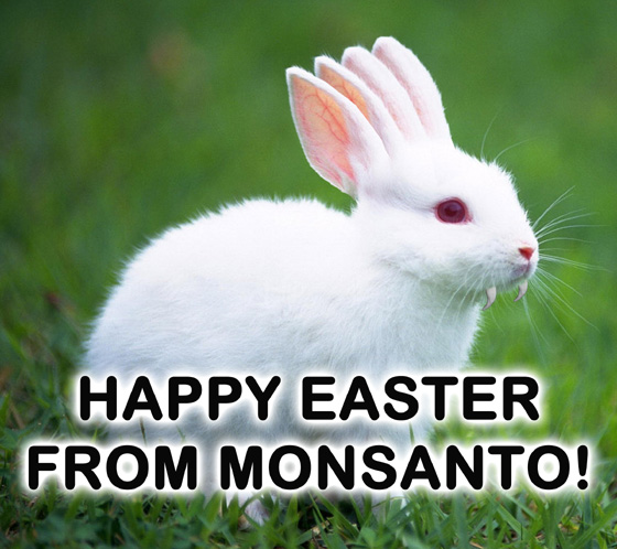 Happy Easter From Monsanto