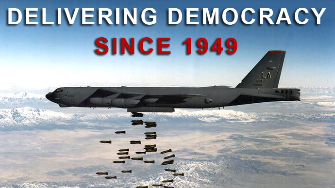 NATO Delivering Democracy Since 1949