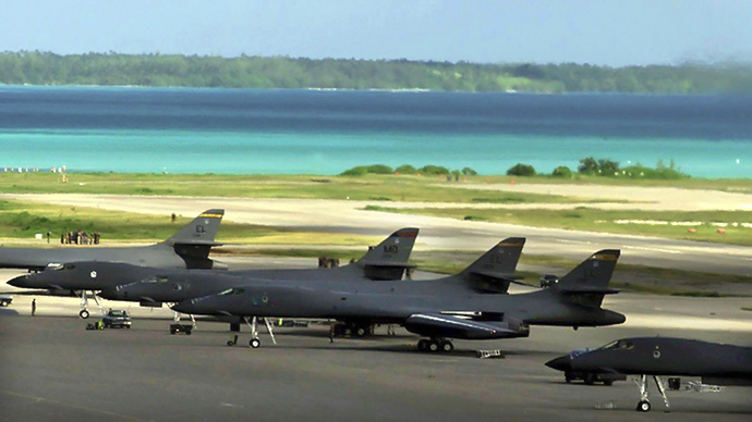 Naval Support Facility Diego Garcia (AFP Photo - USAF)