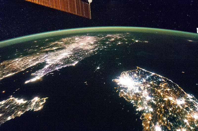 North-Korea-At-Night