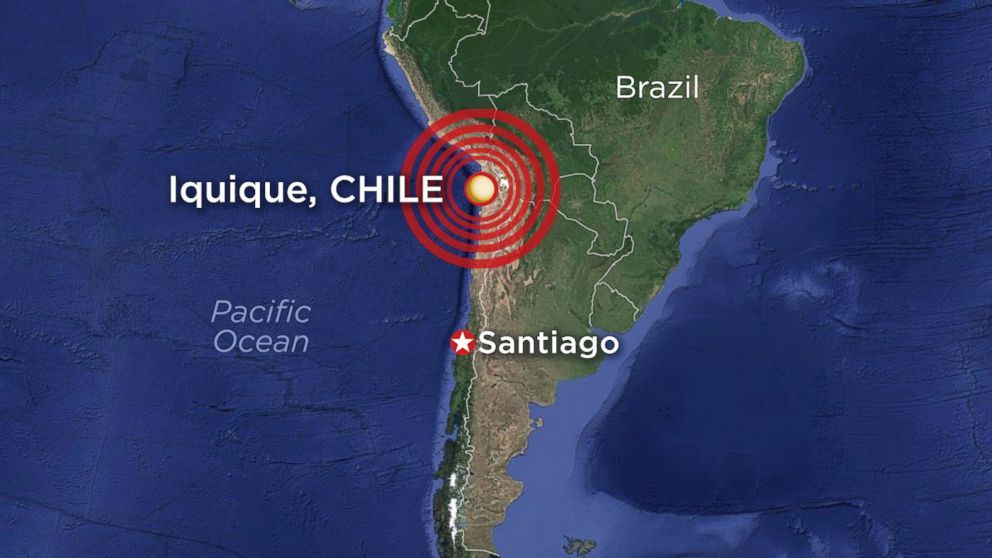 Massive 8.0-Magnitude Earthquake Hits Near Chile Coast; Tsunami ...earthquake strikes chile