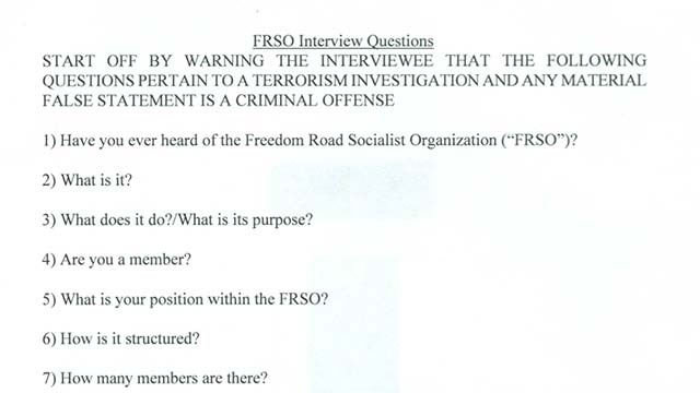 questionaire-FBI-FRSO