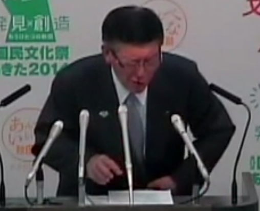 Akita-governor-suddenly-had-nosebleed-during-a-press-conference