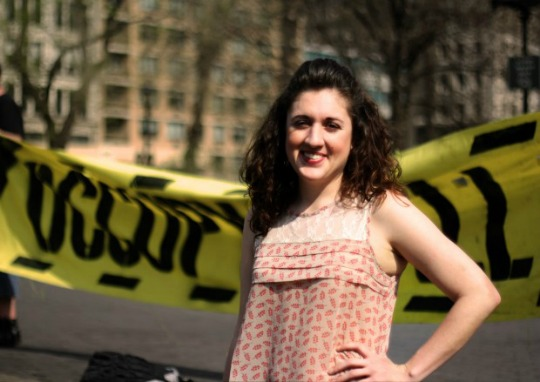 Cecily McMillan, the Occupy Wall Street organizer convicted of felony assault of the police officer