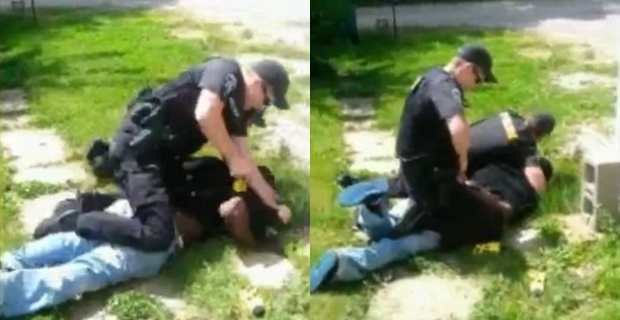 Cops Taser Man 18 Times Then Pounce On Family Member As He Films Incident