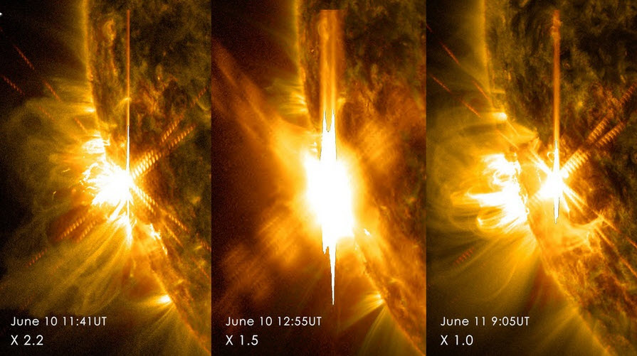 3 X-Class Solar Flares Hit Earth; Disrupt Flights, Communications