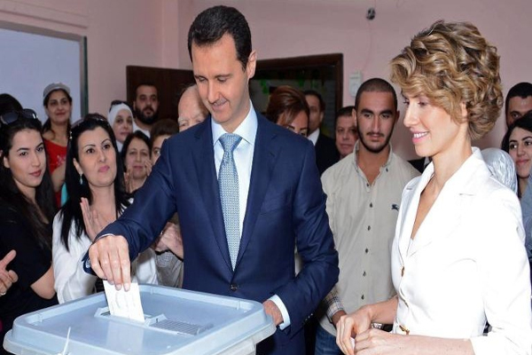 Bashar-Assad-wins-Syria-presidential-election-with-88.7-of-vote
