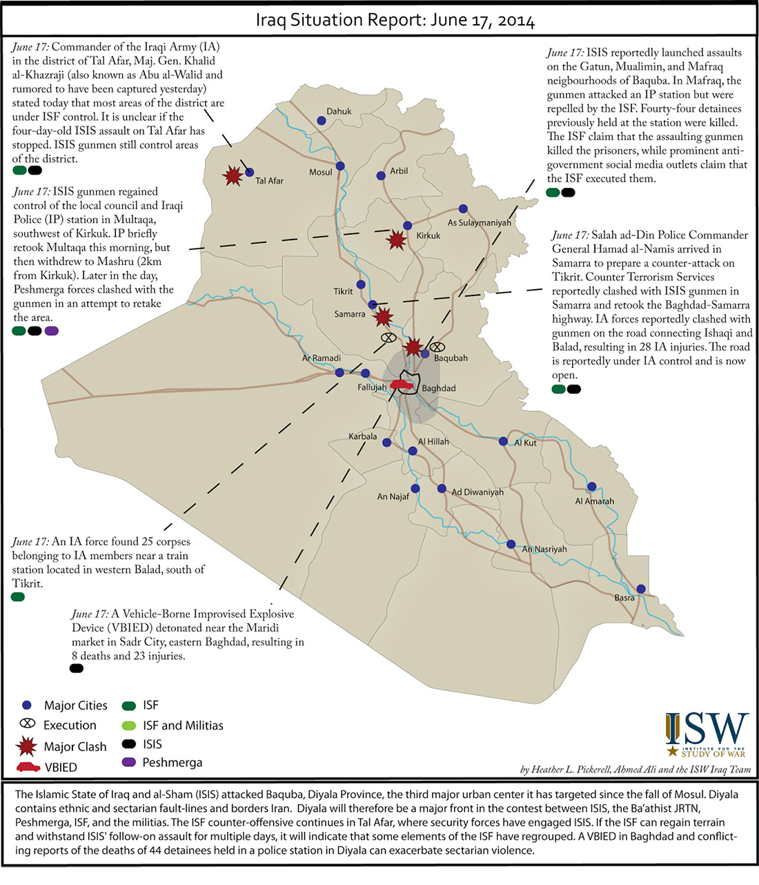 Iraq situation update 6-17