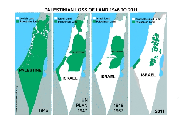 Israeli-theft-of-Palestine-maps
