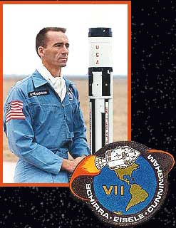 Astronaut Walter Cunningham in the Apollo era