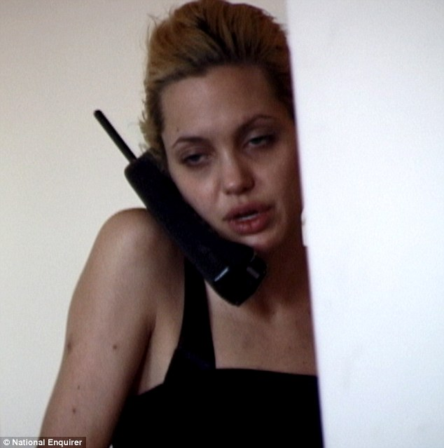 Video Of Angelina Jolie The Heroin Addict