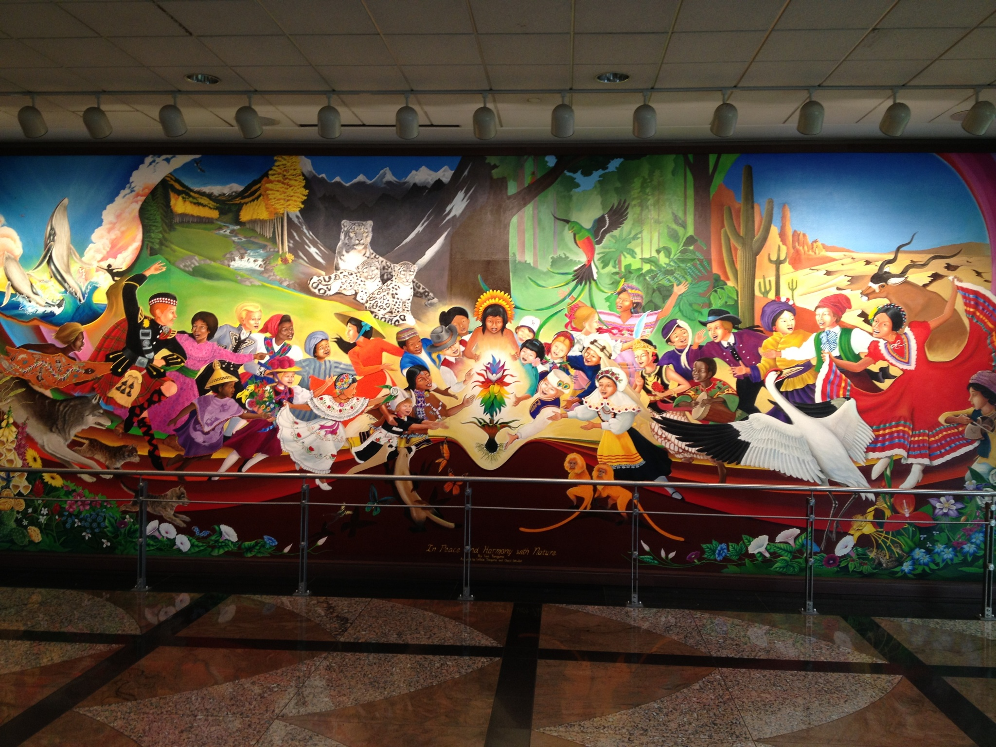 Whistleblower reveals secret underground base beneath for Denver mural airport