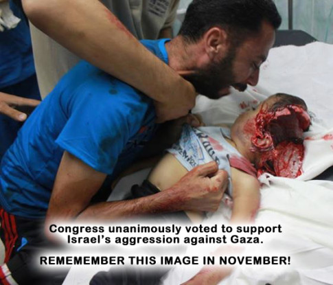 Gaza - Remember This Image In November
