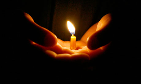 candle-in-hand