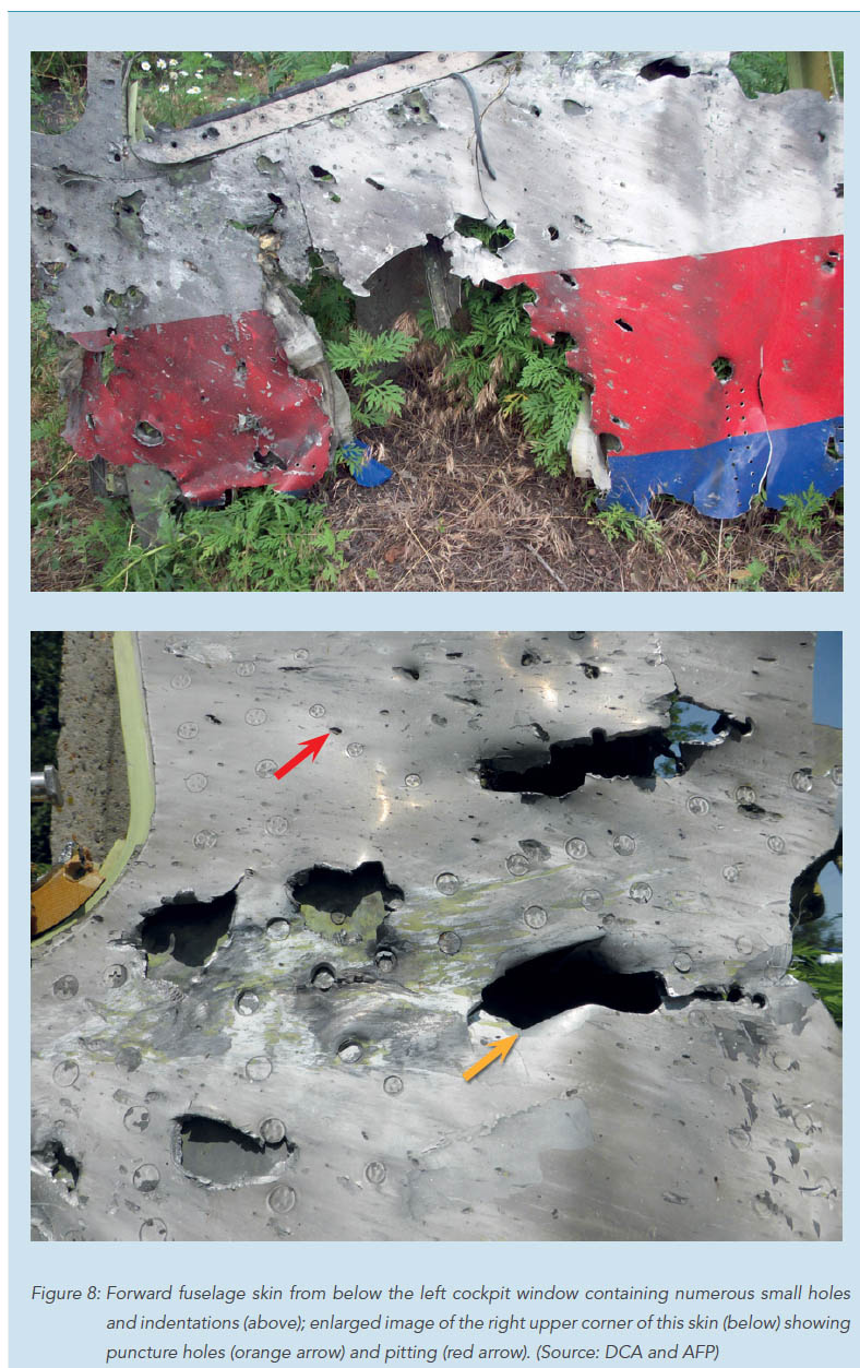MH17 Perforation