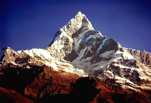 Mountain-Machapuchare-Nepal