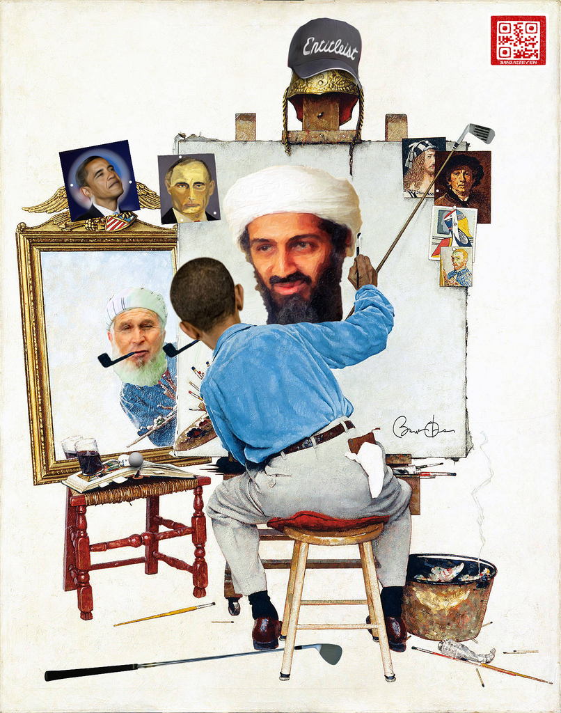 Obama-Self-Portrait